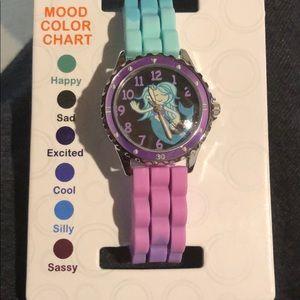 Mermaid mood changing watch